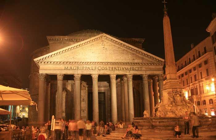 The Pantheon, Rome, At Night
