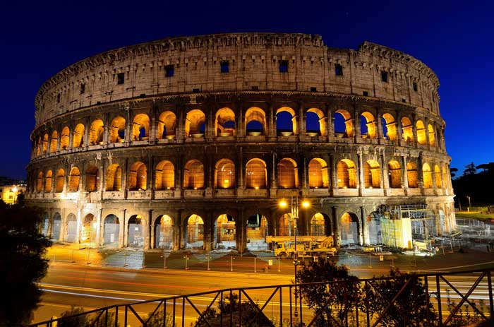 Magical Night View of the Coliseum