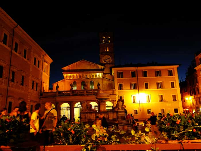 Basilica of Santa Maria in Trastevere, Rome