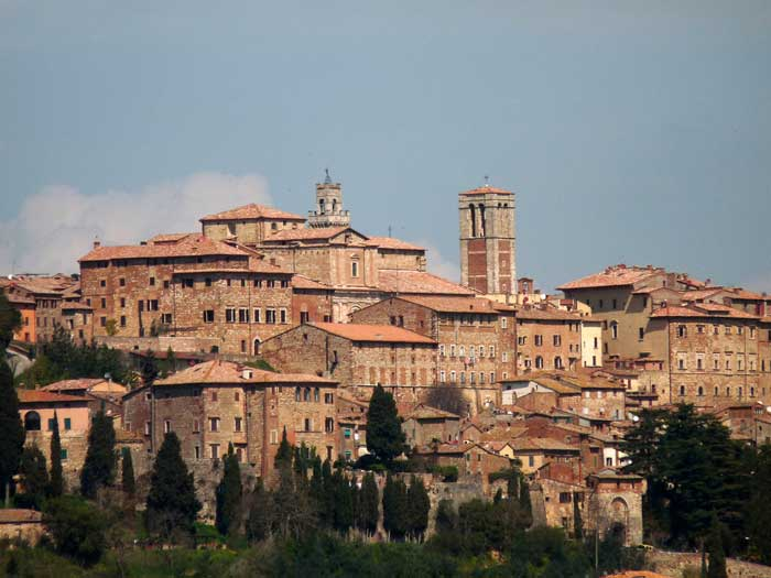 Montepulciano, Medieval and Renaissance Town