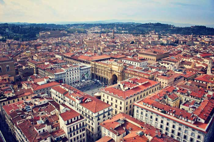 Italy, Florence Cityscape
