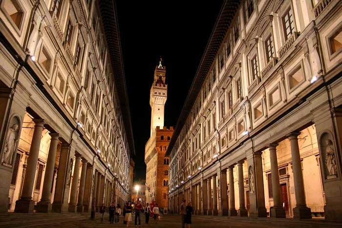 Galleria degli Uffizi, Firenze, Italy