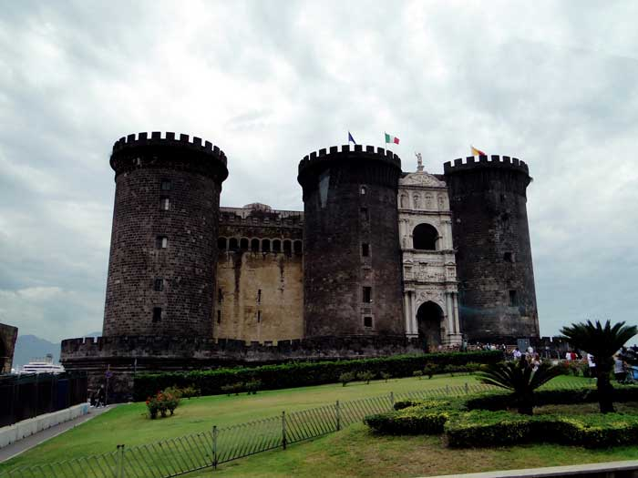Castel Nuovo, also Known as Maschio Angioino