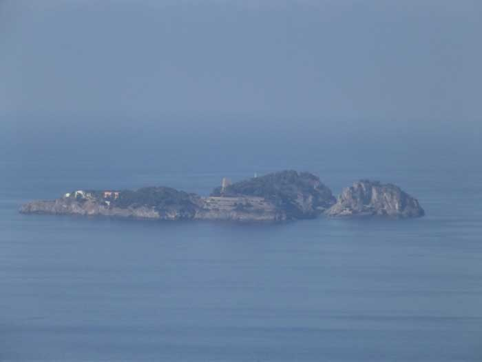 Li Galli islands, Positano, The Amalfi Coast