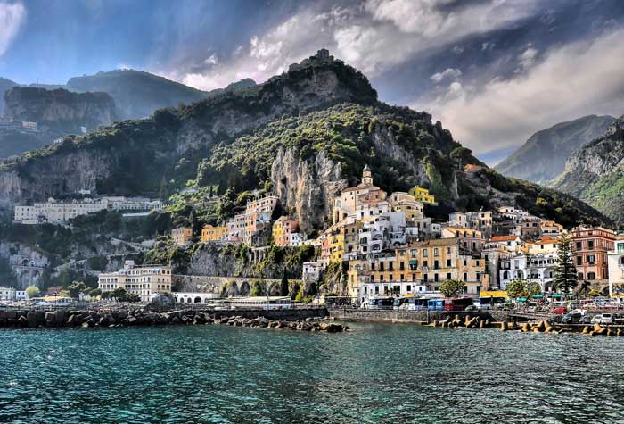 Wonderful amalfi Coast, Campania, Italy