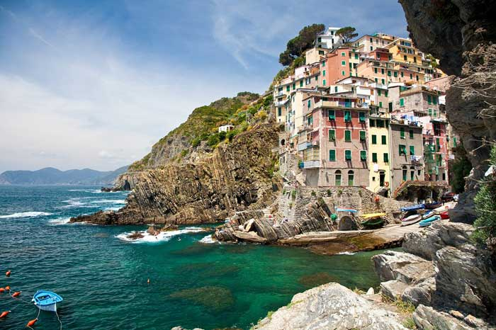 Riomaggiore, First of 5 Cinque Terre Villages