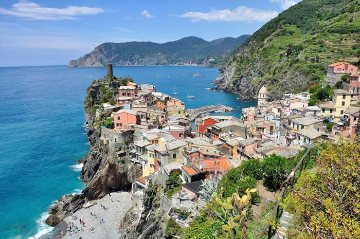 Glorious View of Vernazza