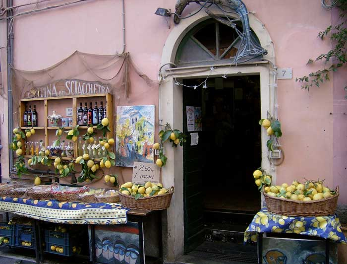 Scented Cinque Terre Lemons