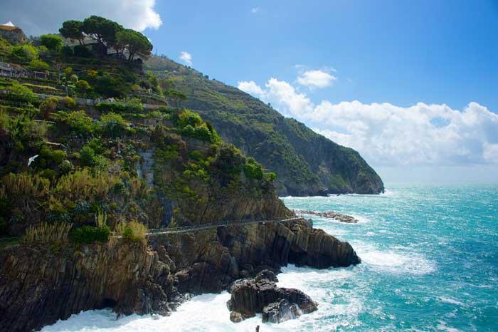 Coastal Via dell'Amore, Riomaggiore, Liguria