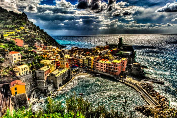 Dramatic Intepretation of Vernazza