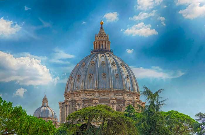 Dome of Saint Peter's Basilica, The Vatican City