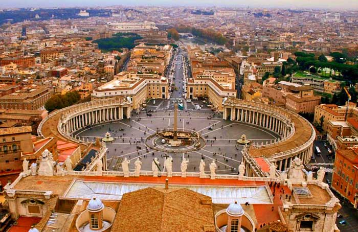 St. Peter's Square, the Vatican City