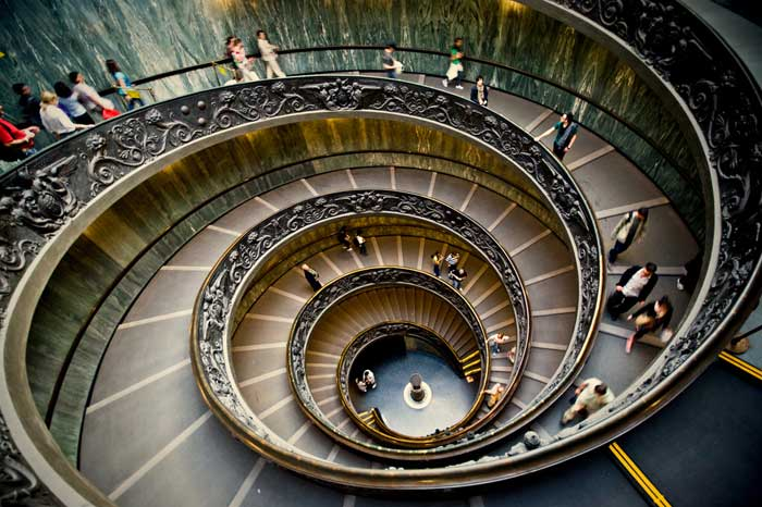 Famous Spiral Staircase, Vatican City Museum