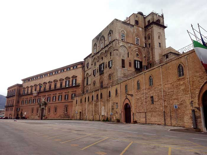 Palazzo dei Normanni or Royal Palace of Palermo