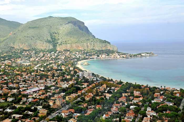 Mondello Bay, Palermo, Sicily