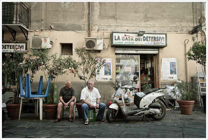 Palermo Street, Sicily, Italy