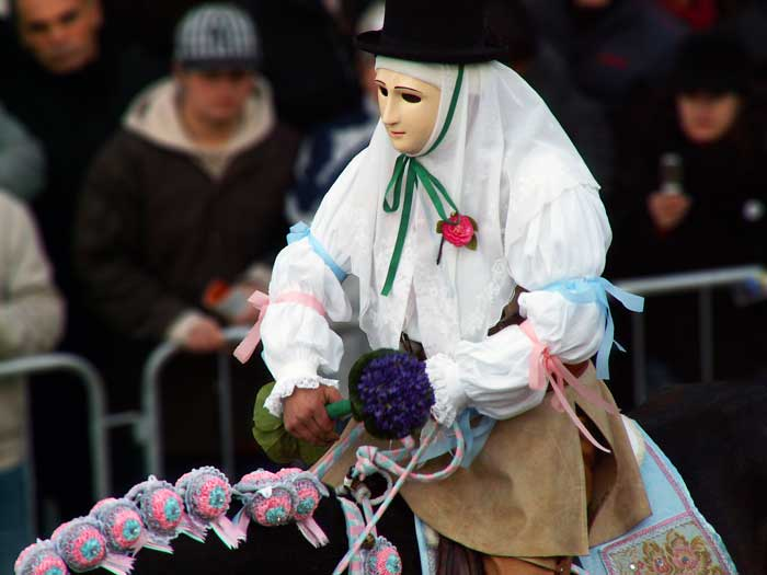 Sartiglia, Amazing Equestrian Tournament, Oristano, Central Sardegna