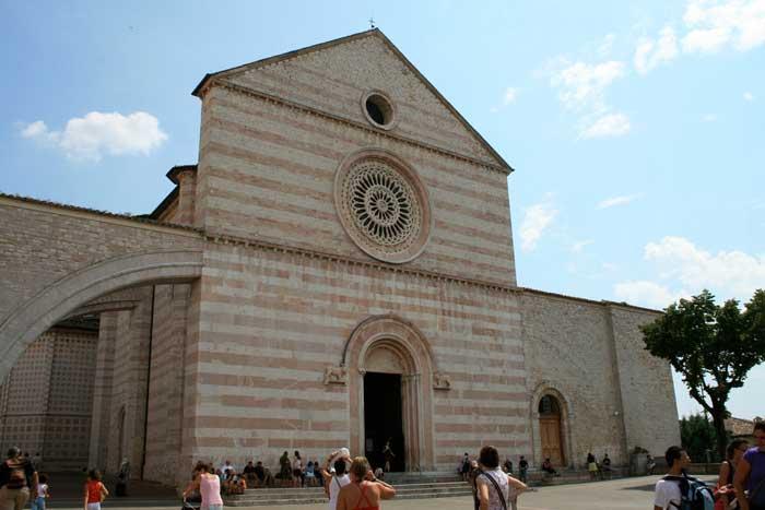Basilica di Santa Chiara, Assisi, Perugia