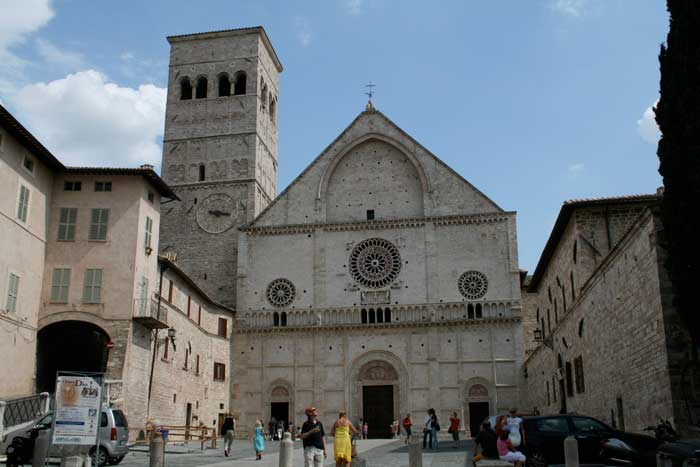Cattedrale di San Rufino di Assis, Umbria, Central Italy