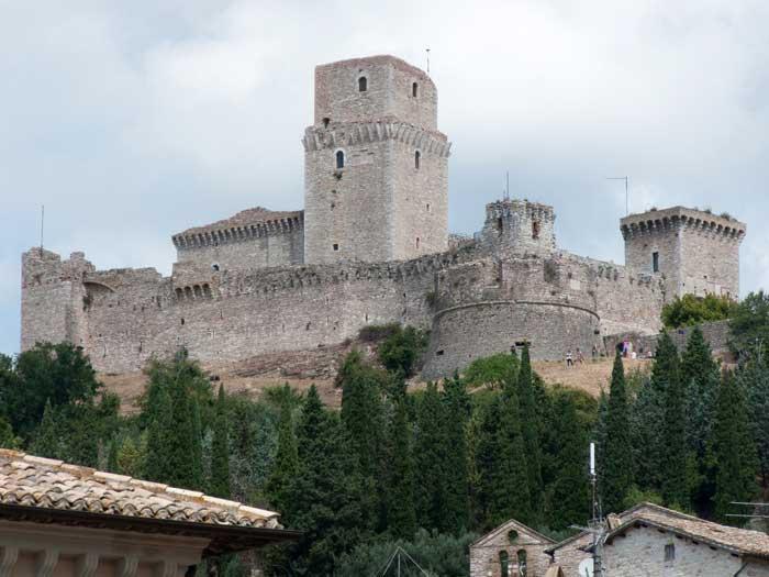 Rocca Maggiore Fortress, Assisi, Perugia, Italia