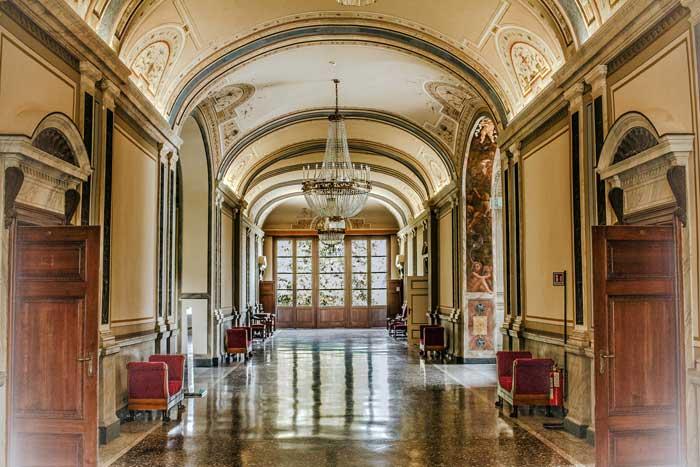 Interior Villa Carlotta, Tremezzo, Lake Como