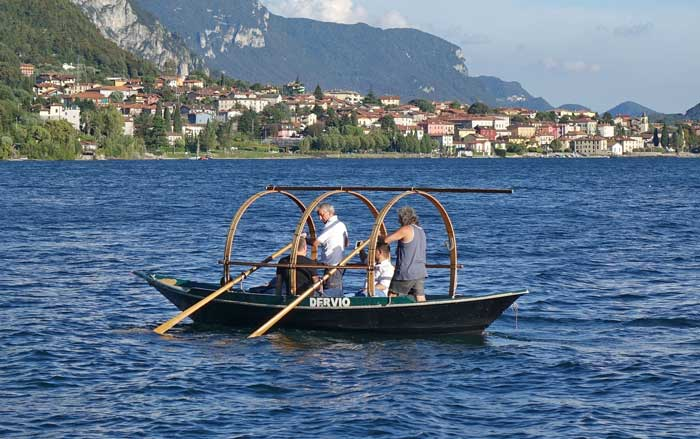 Fishermen's Boat Known as Lucia - Lecco, Lake Como, Italy
