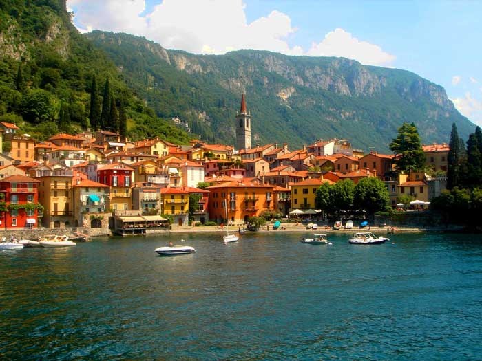 Picturesque Varenna, Lake Como, Italy
