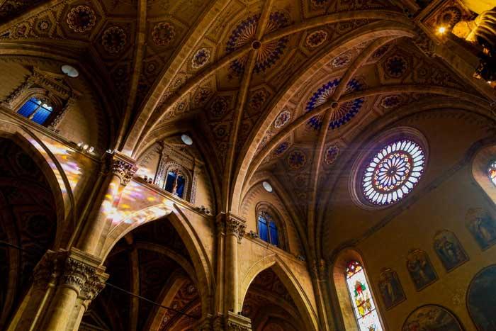 Interior Como Cathedral, Lombardia, Italia