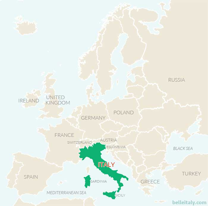 Where Is Italy Located Find Out Interesting Facts About Italy