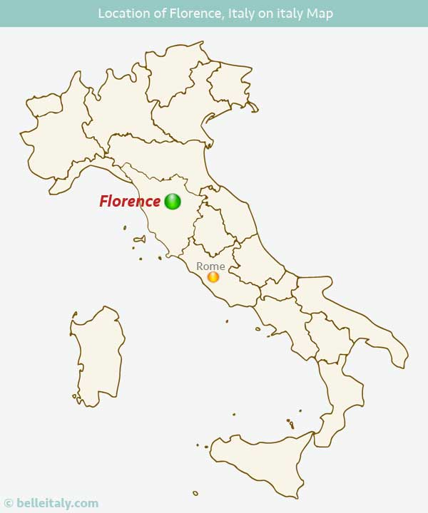 Where is Florence Italy Located?