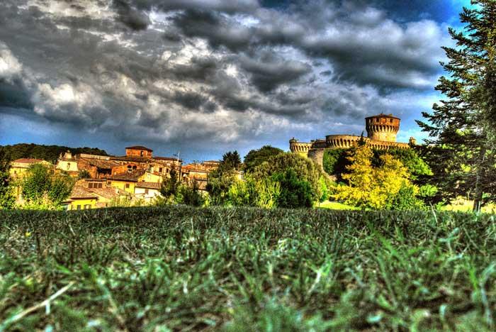 Landscape Near Volterra, Province of Pisa, Italy