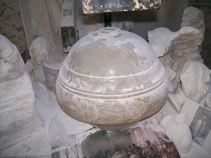 Alabaster Workshop in Volterra