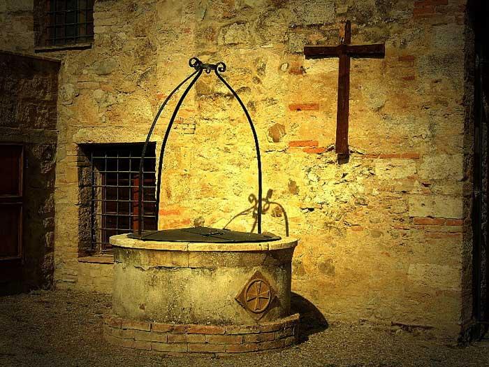 Charming Corner of Volterra, Italy