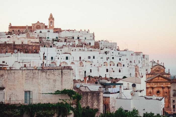 The White City of Ostuni, Puglia, Italy