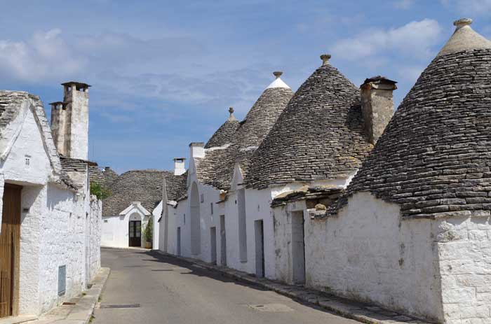 The Distinctive Trulli of Alberobello, Italy, Puglia
