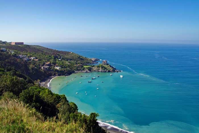 San Nicola Arcella on the Tyrrhenian Sea