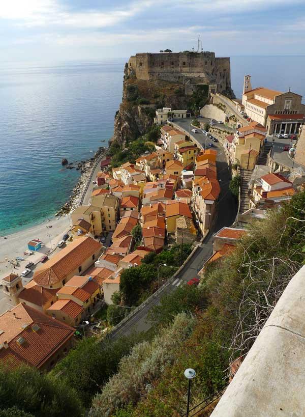 Scilla and its Castle, Calabria, Italy