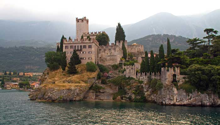 Malcesine and the Castello Scaligero on Lake Garda