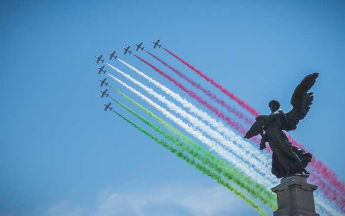 Italian National Day Celebrations in Rome