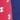 červená tlač / modrá