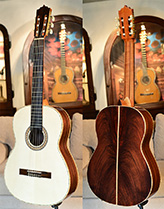 Bellucci Guitars - Indonesian Rosewood back and sides, Alpine Spruce top Concert Classical Guitar