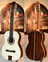 Bellucci Guitars - Indonesian Rosewood back and sides, Canadian Spruce top Concert Classical Guitar