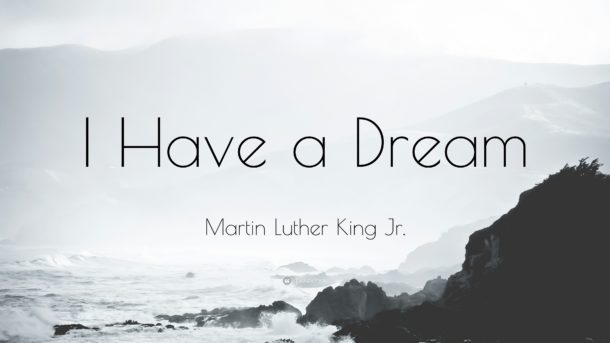 Martin Luther King Day