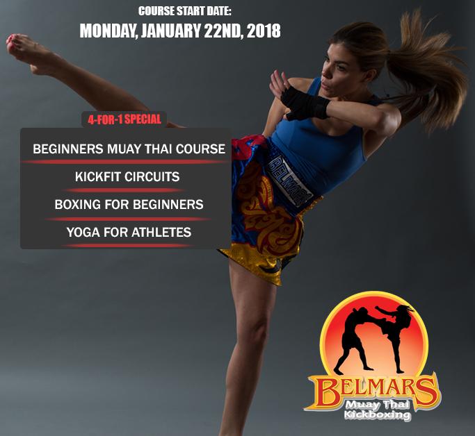 Beginners Muay Thai Kickboxing & Fitness