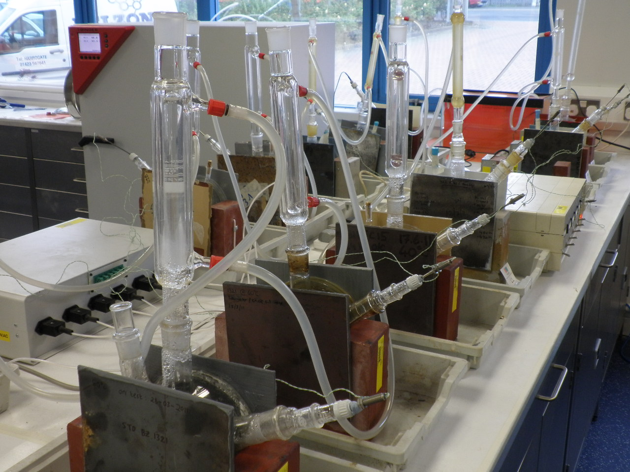 Laboratory testing of atlas cells