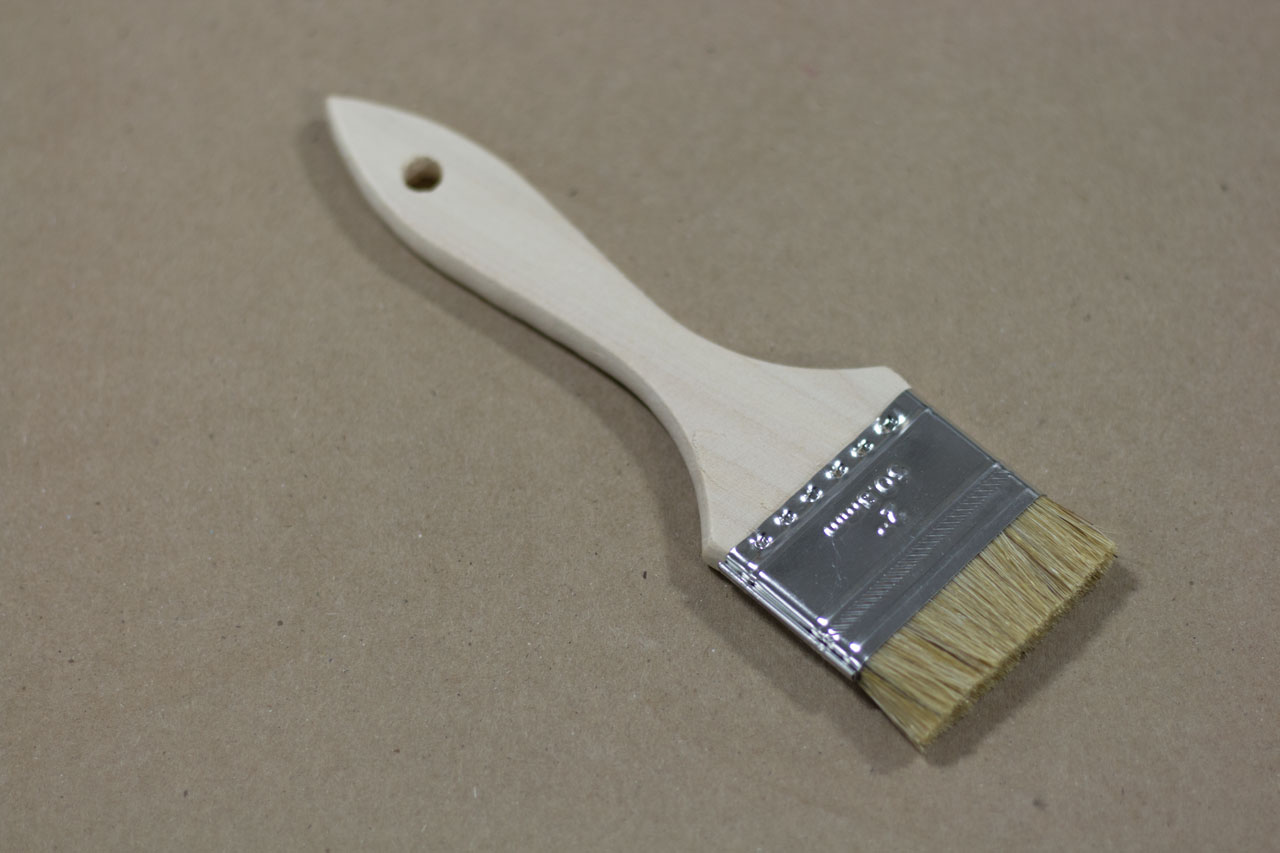 Short-bristeled brush for Oversized Keyway Repair