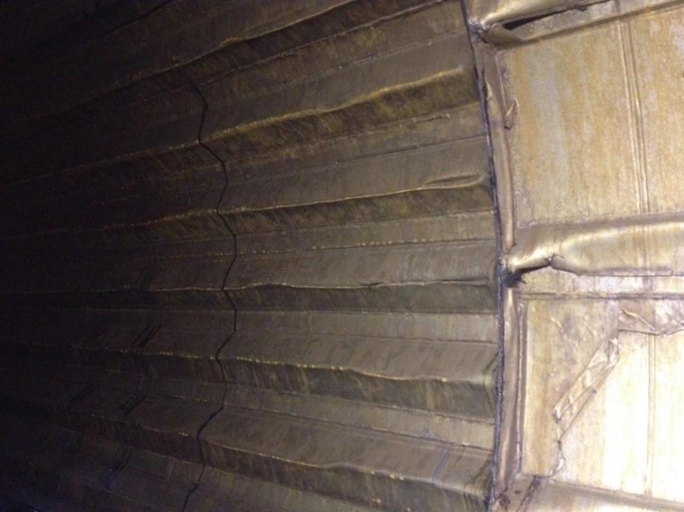 debarker abrasion resistant lining