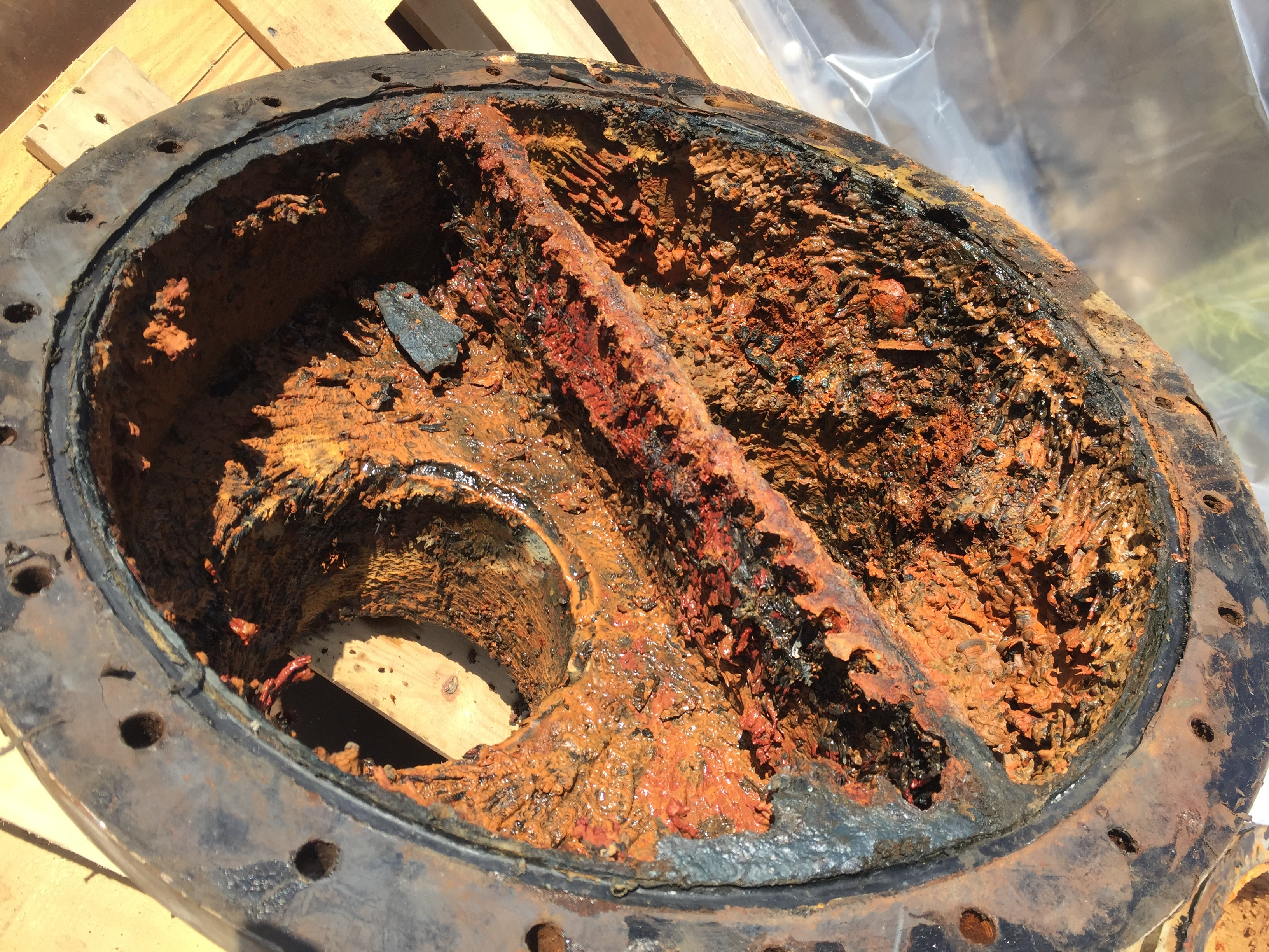 Heat Exchanger Repaired Using Epoxy Composites And Coatings
