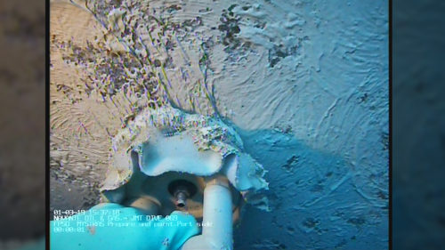 Underwater coating application