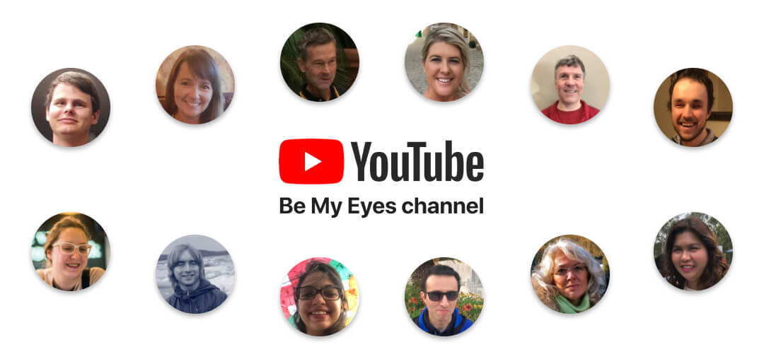 Be My Eyes YouTube channel